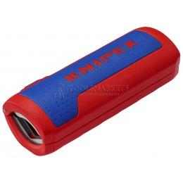 Инструмент для удаления изоляции и резки пластиковых гофротруб с диаметром от 13 до 32 мм TwistCut KNIPEX KN-902201SB