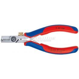 Ножницы-щипцы для удаления изоляции 0,03-1,0 mm² , 130 мм KNIPEX KN-1182130