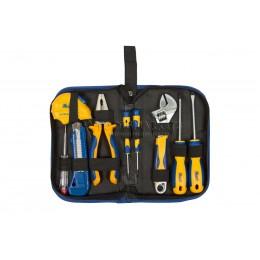 Набор инструмента 9 предметов в сумке KRAFT KT 703000