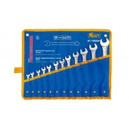 Заказать Набор комбинированных ключей 12 предметов в сумке KRAFT KT 700554 отпроизводителя KRAFT