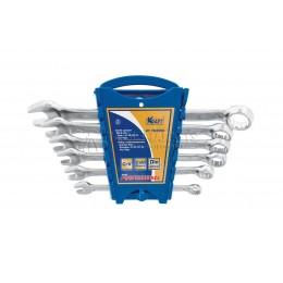 Заказать Набор комбинированных ключей 6 предметов, 8, 10, 12, 13, 14, 17 мм пластиковый держатель KRAFT KT 700550 отпроизводителя KRAFT