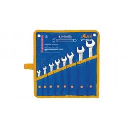 Заказать Набор комбинированных ключей 8 предметов, 6, 8, 10, 12, 13, 14, 17, 20 мм в сумке KRAFT KT 700553 отпроизводителя KRAFT