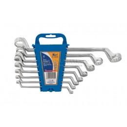 Заказать Набор накидных ключей 8 предметов, 6x7, 8x9, 10x11, 12x13, 14x15, 16x17, 18x19 ,24x27 мм, пластиковый держатель KRAFT KT 700556 отпроизводителя KRAFT