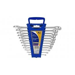 Заказать Набор комбинированных ключей 12 предметов, 6,8,10,12-19, 22 мм ЕВРО пластиковый держатель KRAFT KT 700591 отпроизводителя KRAFT