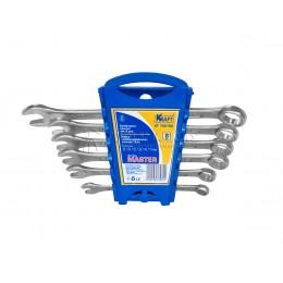 Заказать Набор комбинированных ключей Master 6 предметов, 8, 10, 12, 13, 14, 17 мм пластиковый держатель KRAFT KT 700760 отпроизводителя KRAFT