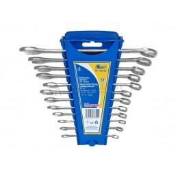 Заказать Набор комбинированных ключей Master 12 предметов, 6-15, 17,19 мм пластиковый держатель KRAFT KT 700762 отпроизводителя KRAFT