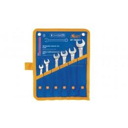 Заказать Набор комбинированных ключей 6 предметов, 8, 10, 12, 13,14, 17 мм, в сумке KRAFT KT 700551 отпроизводителя KRAFT