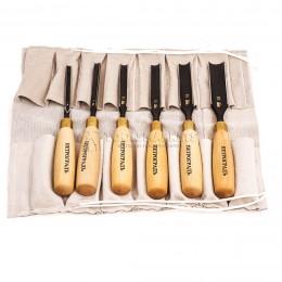 Заказать Набор стамесок полукруглая РК, 6 предметов в сумке-скрутке ПЕТРОГРАДЪ М00012812 отпроизводителя ПЕТРОГРАДЪ