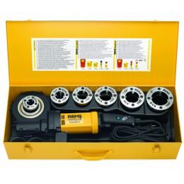 Заказать Электрический клупп REMS Амиго 2 Компакт набор R 1/2-3/4-1-1.1/4 в стальном чемодане REMS 540023 отпроизводителя REMS