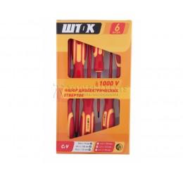 Набор диэлектрических отверток 6 предметов картон 1000В SHTOK 09906