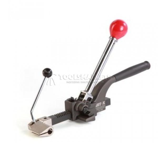 Инструмент для натяжения и резки стальной ленты c храповым механизмом SHTOK 23003