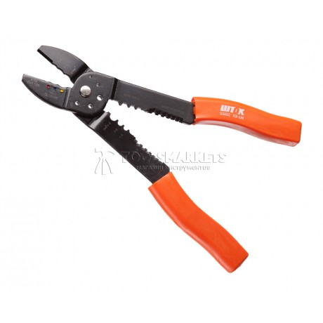 Клещи электромонтажные многофункциональные «5в1» КЭ-6М SHTOK 03402