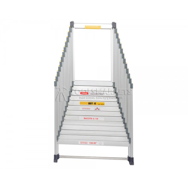 Лестница раздвижная 4.1 м SHTOK 20310