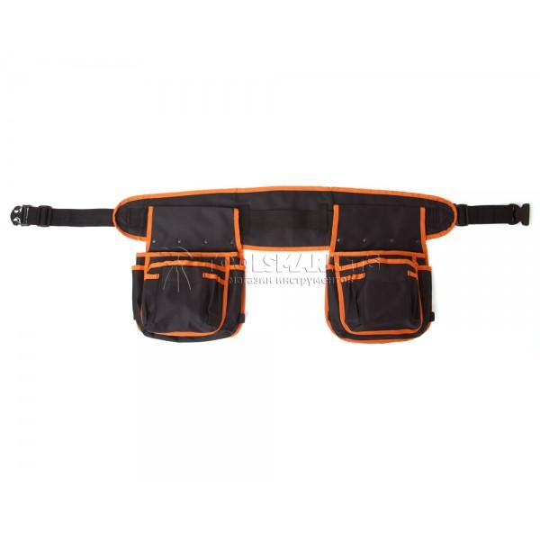 Пояс монтажника с двумя карманами SHTOK 15005-C01