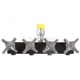Заказать Распределительный гидравлический кран 1 на 4 SHTOK 12505 отпроизводителя SHTOK