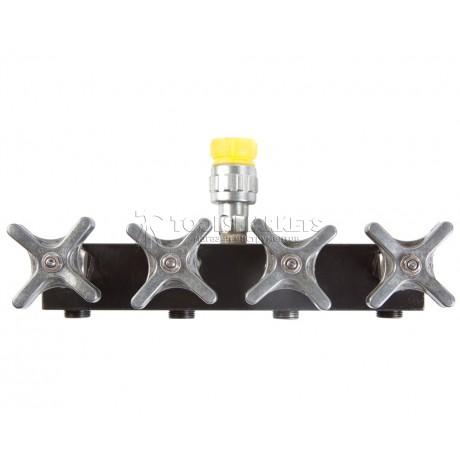 Распределительный гидравлический кран 1 на 4 SHTOK 12505