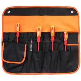 Набор диэлектрических отверток № 2, 6 предметов в органайзере SHTOK 07302