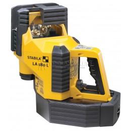 Мультилинейный лазерный прибор LA180L Complete Set, с ресивером до 100 м STABILA 18044