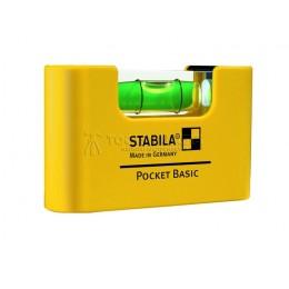 Уровень тип Pocket Basic STABILA 17773