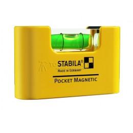 Заказать Уровень тип Pocket Magnetic STABILA 17774 отпроизводителя STABILA