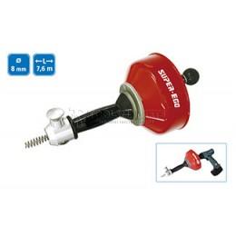 Устройство для прочистки труб вручную или с помощью дрели SUPER-EGO 1500000484