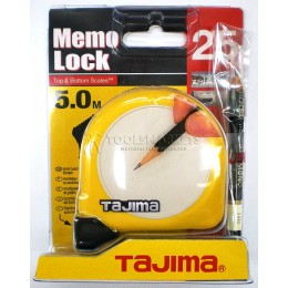 Рулетка измерительная 5х25 мм MEMO LOCK TAJIMA ML550MRL015Y