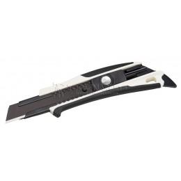 Нож технический 18 мм CUTTER KNIFE DFC560 с автофиксацией лезвия TAJIMA DFC560N/W1