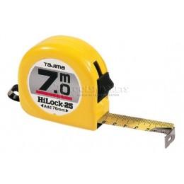 Заказать Рулетка измерительная HI LOCK 7х25мм цвет желтый TAJIMA H5P70MY отпроизводителя TAJIMA