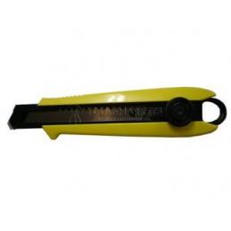 Нож DRIVER CUTTER 18 мм с винтовым стопором TAJIMA DC501B/Y1