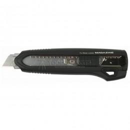 Заказать Нож  LCM500 18 мм с обоймой MAGAZIN обрезиненный корпус 3 лезвия TAJIMA LCM500B/K1 отпроизводителя TAJIMA