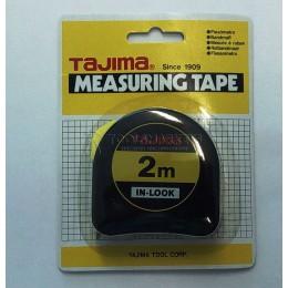 Рулетка измерительная IN-LOCK 2мх16мм с окошком TAJIMA I6P20MY