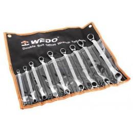 Набор ключей гаечных накидных двусторонних 9 предметов CR-V WEDO WD202B9