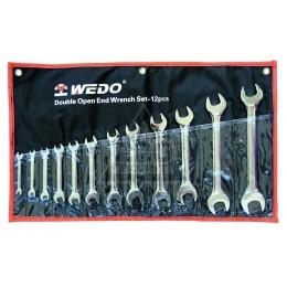 Набор ключей гаечных рожковых двусторонних 13 предметов CR-V WEDO WD201B13