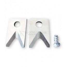 Комплект запасных ножей для Super № 5 WEICON 51100002