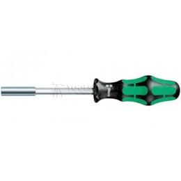 Заказать Ручка-битодержатель с мощным постоянным магнитом 812/1, 1/4 дюйм x 120 mm WERA WE-051205 отпроизводителя WERA