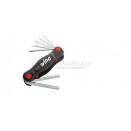 Набор шестигранных ключей PocketStar 7 предметов Wiha 23037