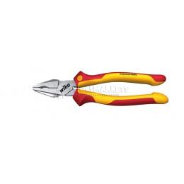 Массивные пассатижи Professional electric VDE 200 мм в блистере Wiha 27420