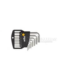 Заказать Набор дюймовых шестигранных штифтовых ключей в держателе 8 предметов Classic  Wiha 01176 отпроизводителя WIHA