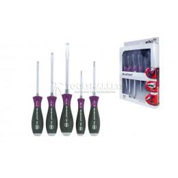 Набор отверток MicroFinish SL/PH 5 предметов Wiha 29138