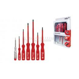 Набор отверток Сlassic electric SL/PH с пробником напряжения 7 предметов Wiha 07151