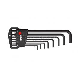 Набор шестигранных ключей Classic SB 369 H9B, 9 предметов блистер Wiha 03992