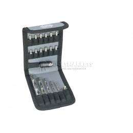 Заказать Набор спиральных сверл-бит по дереву 19 предметов Wiha 28024 отпроизводителя WIHA