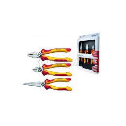 Профессиональный набор шарнирно-губцевого инструмента Industrial electric Z 99 0 001 09, 3 предмета Wiha 38637