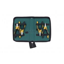 Заказать Профессиональный набор шарнирно-губцевого инструмента Professional ESD Z 99 0 001 04, 4 предмета Wiha 33507 отпроизводителя WIHA