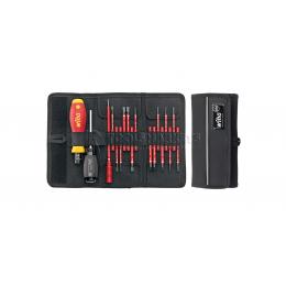 Заказать Профессиональный стартовый набор инструментов slimTorque VDE 2872 T18, 18 предметов, 1-5 Нм Wiha 36791 отпроизводителя WIHA