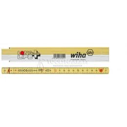 Заказать Складной метр Longlife Plus 2 m 10 сегментов жёлтый Wiha 27055 отпроизводителя WIHA