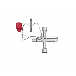 Ключ для электрошкафов Elektro в форме креста Wiha 36114