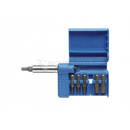 Заказать Набор бит COMBIT-BOX 7 внутренний шестигранник, адаптер, 7 предметов WITTE 27626 отпроизводителя WITTE