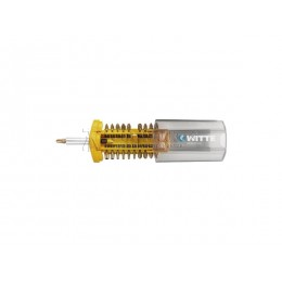 Набор бит PROBIT-BOX желтый BITFLEX TIN PH/PZ/TIN TORX (TR), адаптер, 21 предмет WITTE 27785